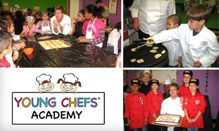 Young Chefs Academy - Hunters Creek: $14 for a 90-Minute Cooking Class at Young Chefs Academy ($30 Value)
