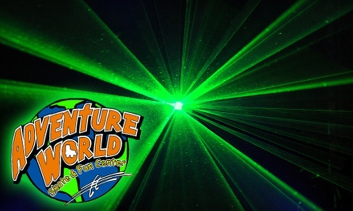 Adventure World Skate & Fun Center - Christiansburg: $8 for Four Games of Laser Tag at Adventure World Skate & Fun Center in Christiansburg (Up to $16 Value)