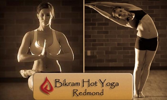 Bikram Hot Yoga Redmond - Downtown Redmond: $30 for 20 Yoga Classes at Bikram Hot Yoga Redmond ($240 Value)
