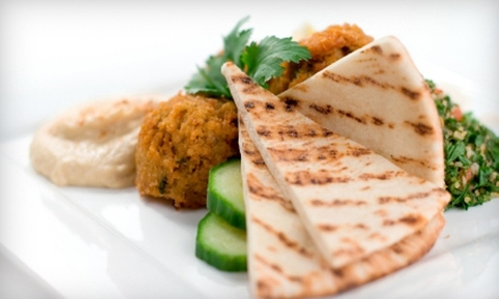 Jordan River Café - Bolton: $10 for $20 Worth of Mediterranean Fare at Jordan River Café
