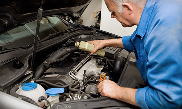Precision Auto Tech Nepean - Merivale Gardens - Grenfell Glen - Pineglen - Country Place: Oil-Change Package with Seasonal Maintenance and Optional Air Conditioner Check at Precision Auto Tech in Nepean (Up to 57% Off)