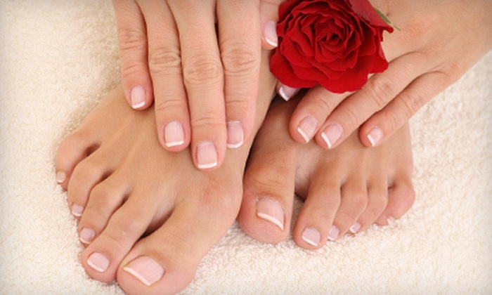 MiChelle's Hair Etc - Elliotts Corner: One or Three Spa Mani-Pedis at MiChelle's Hair Etc in Middleboro (Up to 53% Off)