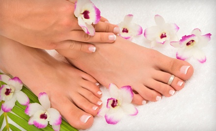 60-Minute Signature Mani-Pedi (a $35 value) - Envidia Nail Salon in Miami