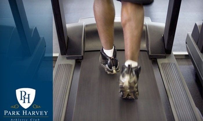 Park Harvey Athletic Club - Downtown Oklahoma City: $81 for a One-month Membership, Massage, and Two Training Sessions at Park Harvey Athletic Club ($204 Value)