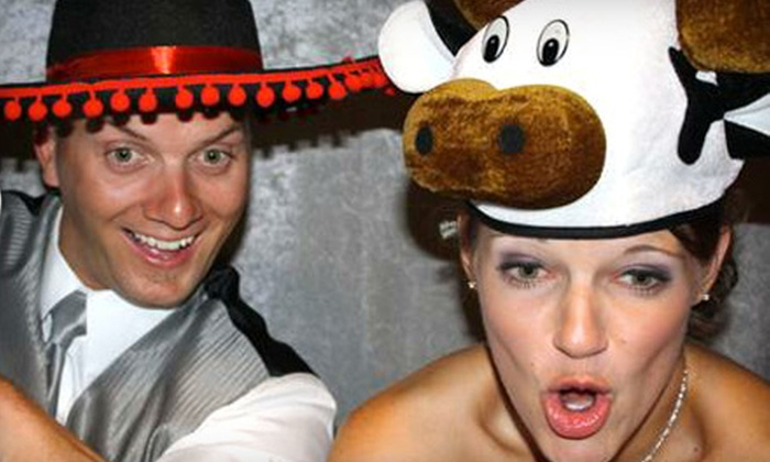 A Good Time Photo Booth - Lincoln: $250 for a Two-Hour Photo-Booth Rental with Unlimited Prints from A Good Time Photo Booth ($500 Value)