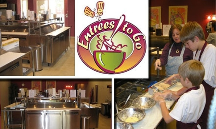 Entrées to Go - Desert Ridge: $20 for a Cooking Class and Two Half-Sized Entrees at Entrées to Go