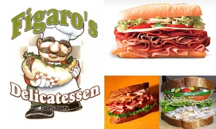 Figaro's Delicatessen - Downtown: $5 for a $10 Groupon to Figaro's
