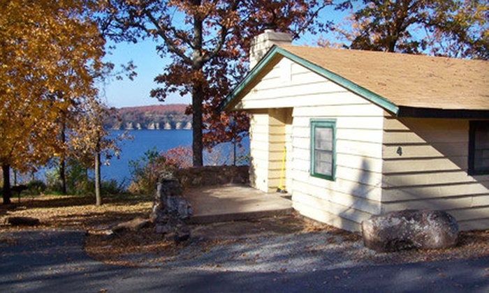 Greenleaf State Park & Tenkiller State Park - Multiple Locations: Cabin Rentals at Greenleaf State Park in Braggs or Tenkiller State Park in Vian (Up to 68% Off). Four Options Available.