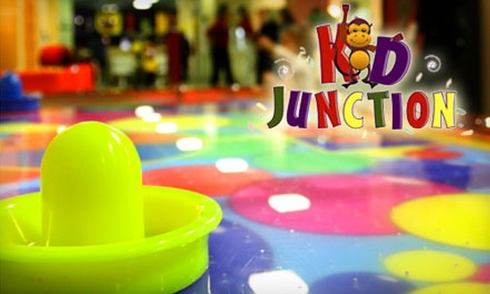 Kid Junction - Branchburg: $5 for Admission Plus $3 Worth of Tokens at Kid Junction in Branchburg (Up to $11.95 Value)