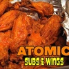 $10 for Fare at Atomic Subs & Wings