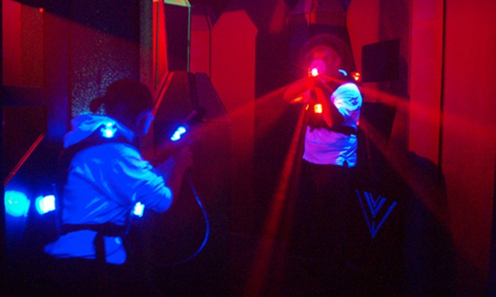Q-Zar - Sylvania: $9 for Three Games of Laser Tag at Q-Zar (Up to $19 Value)