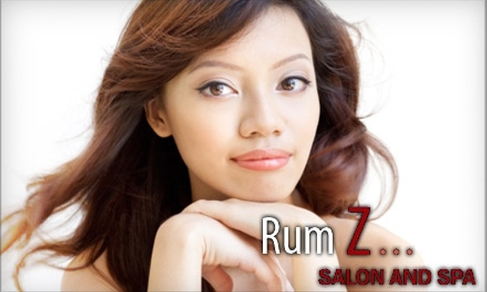 Rum Z Salon and Spa - Multiple Locations: $30 for a Custom Facial at Rum Z Salon and Spa in Greensboro ($80 Value)