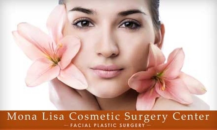 Mona Lisa Cosmetic Surgery Center - Multiple Locations: $149 for 20 Botox or 50 Dysport Units ($450 Value) or $129 for a Photofacial ($800 Value) at Mona Lisa Cosmetic Surgery Center