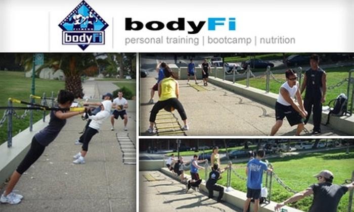 bodyFi - San Francisco: $25 for Three Intense Boot Camp Sessions at bodyFi