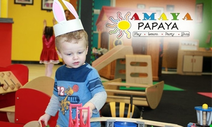Amaya Papaya - Casselberry: $39 for a 10-Visit Play Card to Amaya Papaya ($80 Value)