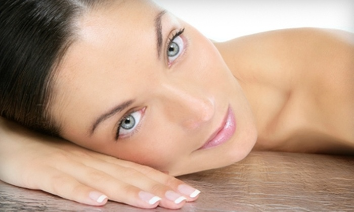 Hollywood Glam - Hollywood: $59 for Manicure, Facial, and Airbrush Tan at Hollywood Glam in Hollywood ($135 Value)