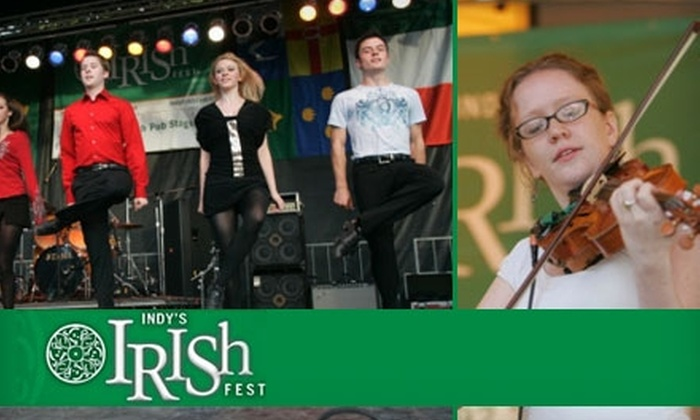 Indy's Irish Fest - Central Indianapolis: $20 for Two Weekend Passes to Indy's Irish Fest on September 17–19 ($48 Value)