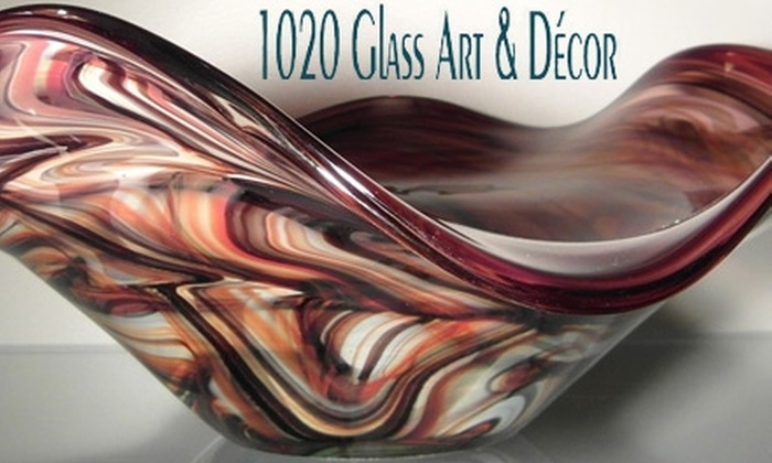 1020 Glass Art and Decor - Downtown: $20 for $50 Worth of Blown-Glass Art at 1020 Glass Art