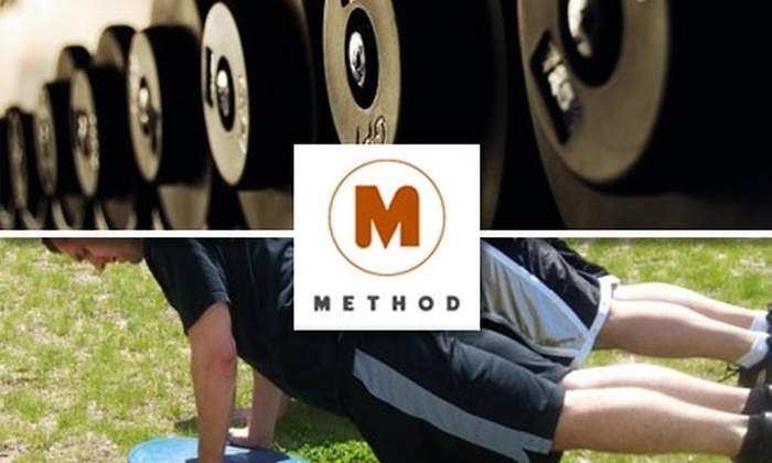 Method Fitness RI - Multiple Locations: $75 for Three Hour-Long Personal Training Sessions or 30 Days Unlimited Boot Camp Plus Four Half-Hour Personal Training Sessions at Method Fitness (Up to $180 Value)
