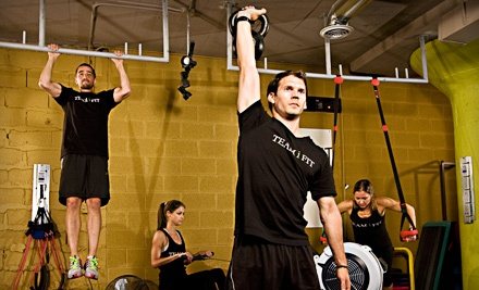 TeamiFit: Choice of 5 Drop-in Fitness Classes, Rowing, Athlete, and Circuit-Training Programs - TeamiFit in Chicago