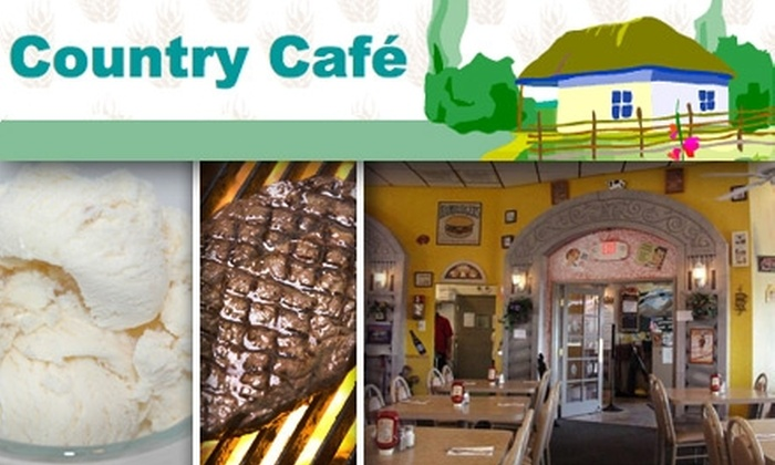 Country Café - Sunrise Manor: $10 for $25 Worth of Home-Cooked Meals and Drinks at Country Café