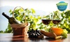 Old Firehouse Winery - Geneva-on-the-Lake: $24 for Wine Glasses, Meat and Cheese Tray, and Corkscrews for Four at Old Firehouse Winery in Geneva ($49 Value)