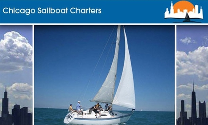Chicago Sailboat Charters - Chicago: $125 for 2.5 Hours of Sailing for Two with Chicago Sailboat Charters ($220 Value). Choose One of Two Times.
