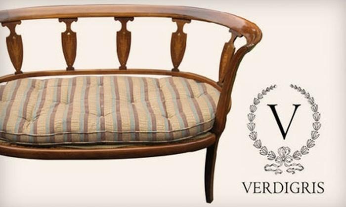 Verdigris Antiques & Interiors - Old Town: $40 for $80 Worth of Antiques and Home Décor at Verdigris Antiques & Interiors