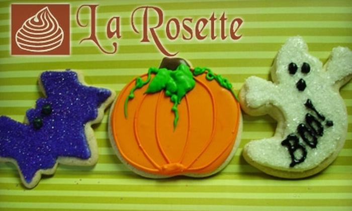 La Rosette Bakery - Richardson: $18 for One-Dozen Holiday Cookies at La Rosette Bakery  ($39 Value)