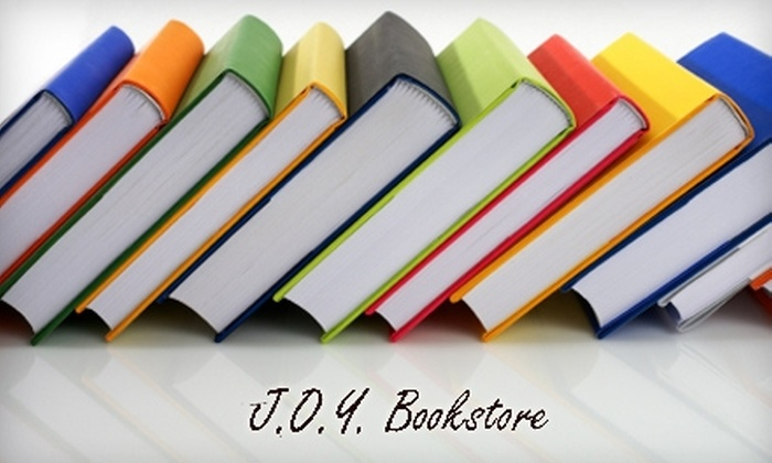J.O.Y. Bookstore - South Heidelberg: $10 for $20 Worth of Books and More at J.O.Y. Bookstore
