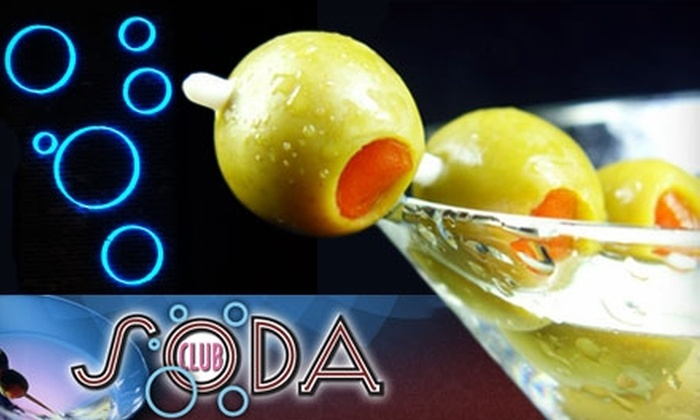 Club Soda - Downtown Fort Wayne: $25 for $50 Worth of Upscale Eats and Drinks at Club Soda