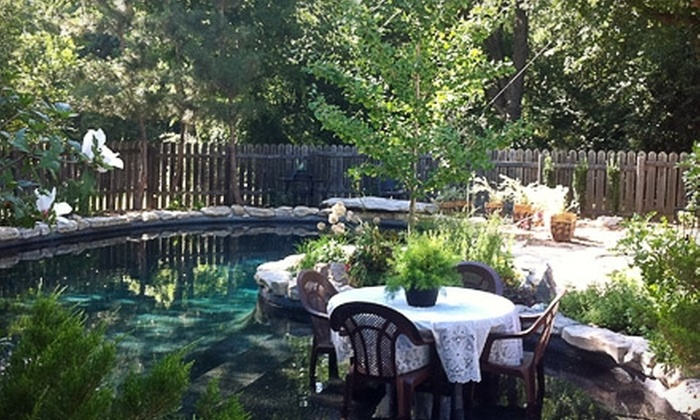 River Rock Bed & Breakfast Cottage - Cleburne: $249 for a Two-Night Getaway Package at River Rock Bed & Breakfast Cottage in Cleburne (Up to $598 Value)