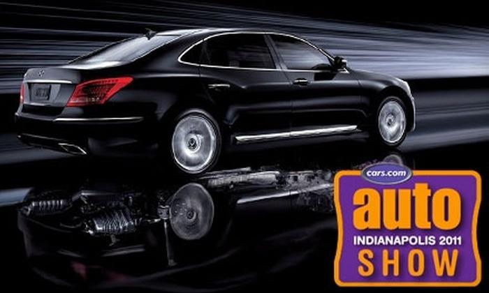 Indianapolis Auto Show - Downtown Indianapolis: $3 for a Ticket to the Indianapolis Auto Show ($6 Value)