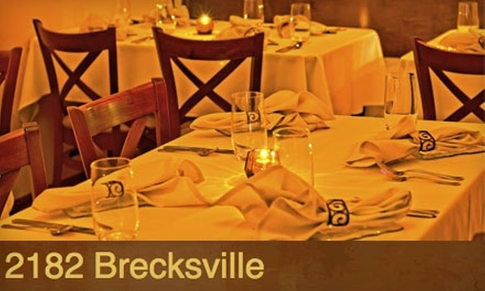 2182 Brecksville - Brecksville: $35 for $70 Worth of Fine Dining at 2182 Brecksville