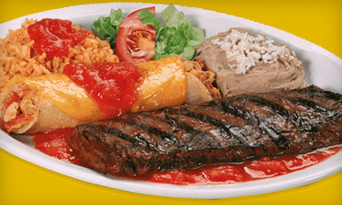 Pepe's Mexican Restaurant - Lyons: $10 for $20 Worth of Dinner at Pepe's Mexican Restaurant in Countryside. Two Options Available.