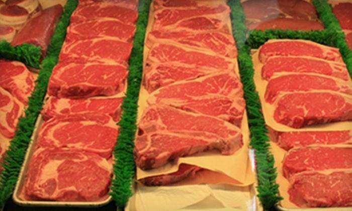 Gourmet Meat & Sausage Shop - Kendrick Lake: $15 for $30 Worth of Premium Meats at Gourmet Meat & Sausage Shop in Lakewood