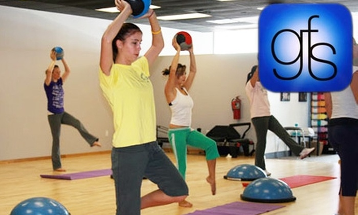 GroupFit Studio - Glenview-Pinegrove: $45 for One Month of Unlimited Classes at GroupFit Studio ($89 Value)