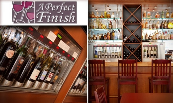 A Perfect Finish - Downtown San Jose: $15 for $35 Worth of Wines, Spirits, Small Plates, and Desserts at A Perfect Finish