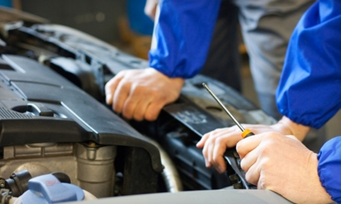 Modern Tire & Auto Service - Multiple Locations:  $15 for an Express Lube, Oil, and Filter Change at Modern Tire & Auto Service ($36.99 Value)