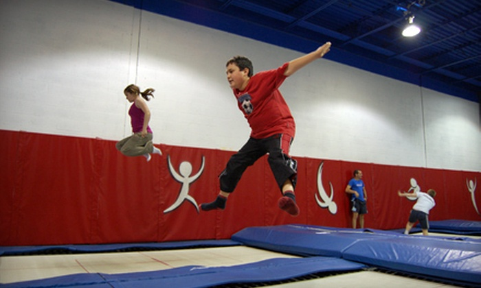 Just Bounce Trampoline Club - York University Heights: Two Intro to Trampoline Classes or Two-Month Membership at Just Bounce Trampoline Club in North York (Up to 55% Off)