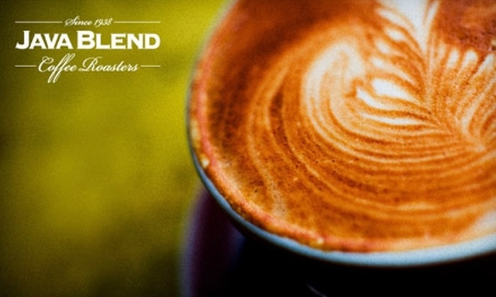 Java Blend Coffee Roasters - North End: $6 for One Pound of Coffee at Java Blend Coffee Roasters (Up to $12 Value)
