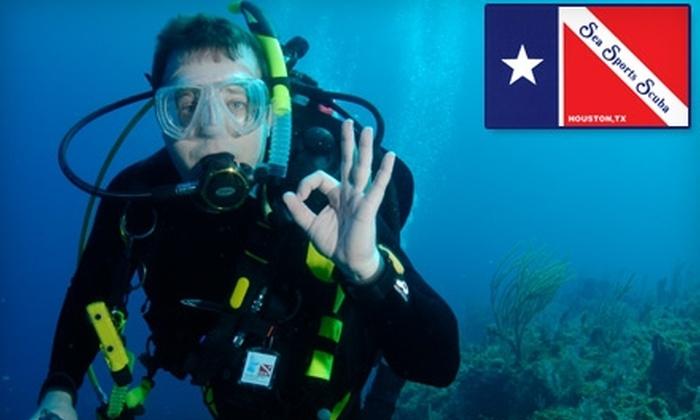 Sea Sports Scuba - Multiple Locations: $15 for a Discover Scuba Experience from Sea Sports Scuba