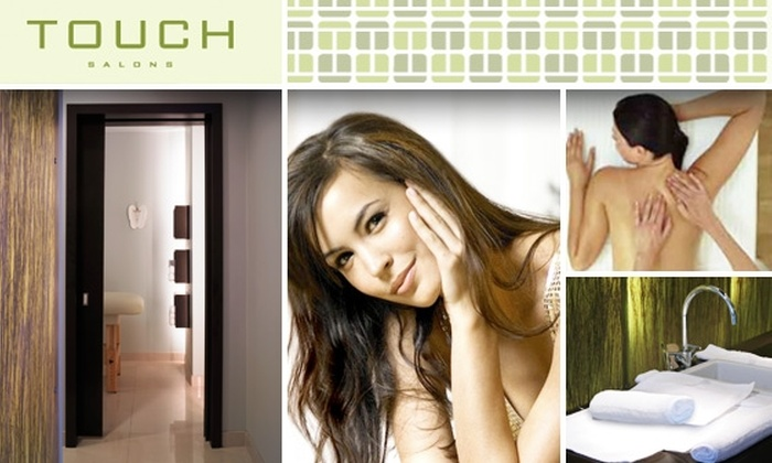 Touch Salons - Loop: Today's Deal for a Touch Salons Swedish Massage has Sold Out, But Take Advantage of This $25 Touch Salons Mani-Pedi ($45 Value)