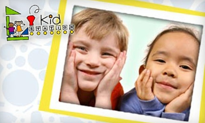 Kid Station - Memphis: $25 For $50 Worth of Drop-In Childcare Services at Kid Station