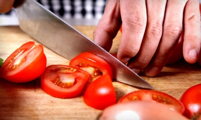 Olives-4-You - Wheaton: $39 for Rustic Italian Cooking Class at Olives-4-You in Wheaton ($80 Value)