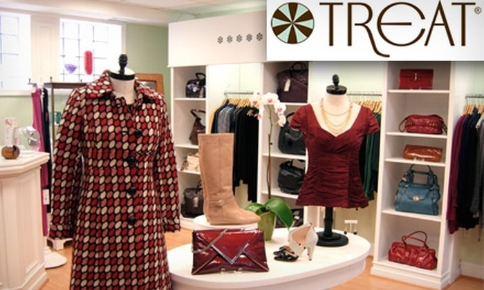 Treat - Old Town: $45 for $100 Worth of Discount Designer Apparel and Accessories at Treat