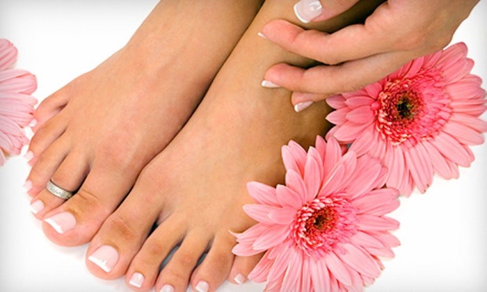 The Nail Club - Langhorne: One or Two Regular Manicures and Express Pedicures at The Nail Club in Langhorne (Up to 56% Off)