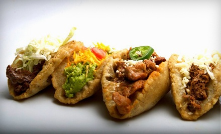 $15 Groupon to Dos Juans Puffy Tacos - Dos Juans Puffy Tacos  in Fort Worth