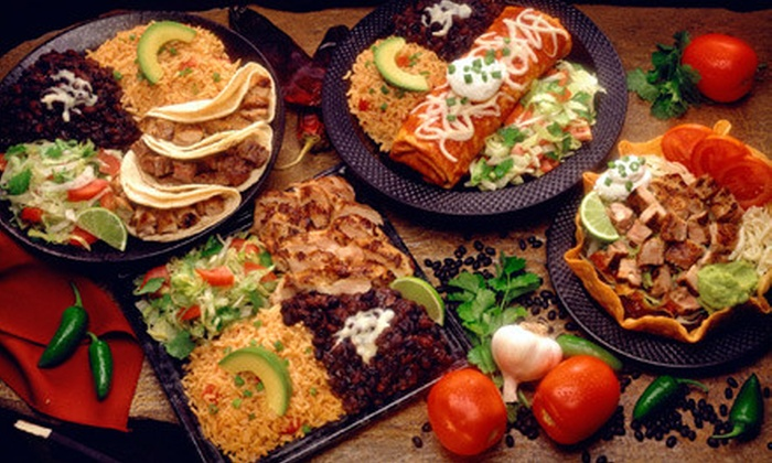 El Porton - Multiple Locations: Authentic Mexican Dinner and Margaritas for Two, Four, or Six at El Porton