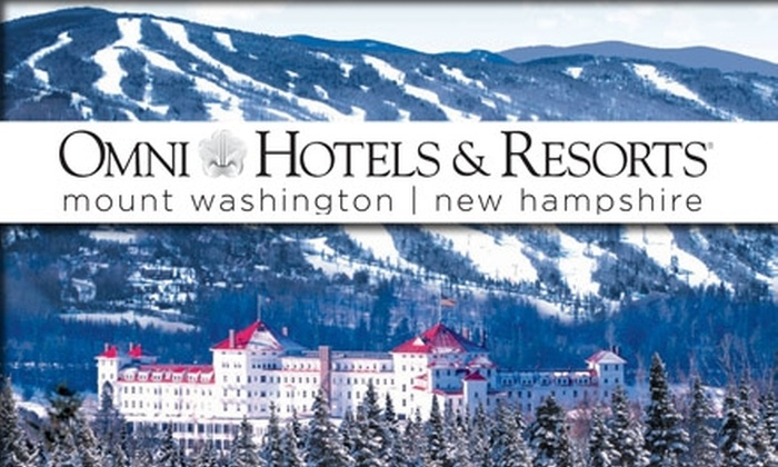 Mount Washington Resort - Carroll: $149 One-Night Stay at Omni Mount Washington Resort Plus Two Lift Tickets (Up to $331 Value)